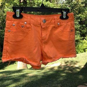 Girls Bright Tractr Denim Shorts